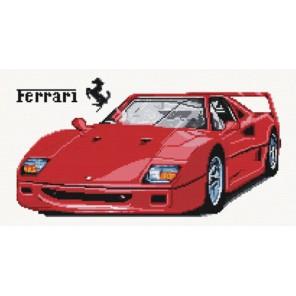 Ferrari Алмазная вышивка (мозаика) Color Kit