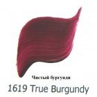 1619 Чистый бургунди Наружного применения Акриловая краска FolkArt Plaid