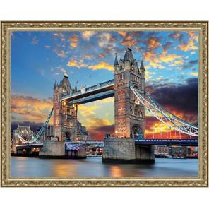 Мост Алмазная мозаика на подрамнике WB2345