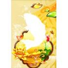 Область выкладки Золотая рыбка Алмазная частичная вышивка (мозаика) Color Kit