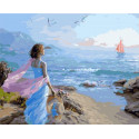 Встреча любимого Раскраска картина по номерам на холсте GX39170