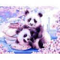 Сладкий сон панды Раскраска картина по номерам на холсте GX39085