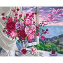 Прекрасный вид из окна Раскраска картина по номерам на холсте GX39002