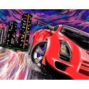 Жажда скорости Раскраска картина по номерам на холсте GX38946