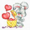 Зайкина любовь Набор для вышивания Многоцветница МКН 40-14