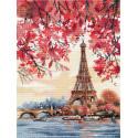 Романтика Парижа Набор для вышивания Овен 1373