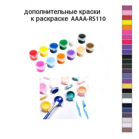 Дополнительные краски для раскраски AAAA-RS110