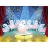 Балерина Раскраска картина по номерам на холсте ME1129