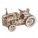 Трактор 3D Деревянный конструктор LK401