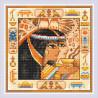 Пример оформления в рамку Египет Алмазная вышивка мозаика Риолис АМ0057