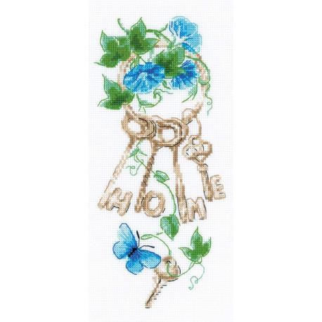 Ключи к дому Набор для вышивания Риолис 1929