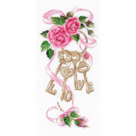 Ключи к счастью Набор для вышивания Риолис 1930