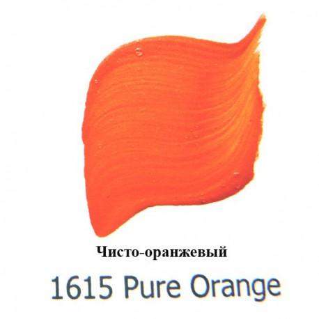 1615 Чисто оранжевый Наружного применения Акриловая краска FolkArt Plaid