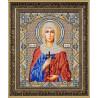Святая Ариадна Канва с рисунком для вышивки бисером Конек 9263