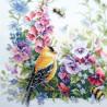 Пример вышитой работы Летняя песня Набор для вышивания Чудесная игла 130-031