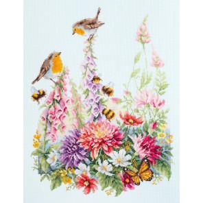 Звонкие малиновки Набор для вышивания Чудесная игла 130-032