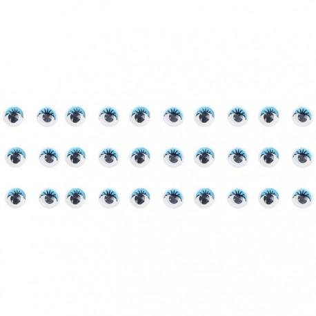 Голубые глазки Украшение для скрапбукинга, кардмейкинга
