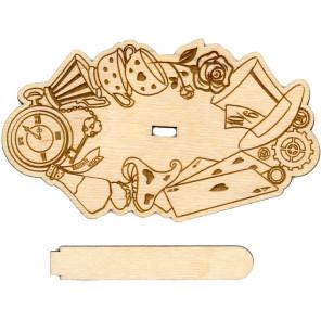 Алиса Деревянная подставка для вышивки на пластиковой канве РА-014