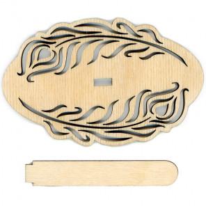 Сказка Деревянная подставка для вышивки на пластиковой канве РА-019