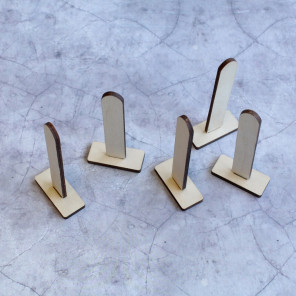 Набор деревянных подставок под сказки для вышивки на пластиковой канве РА-032