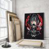 Итачи. Аниме Раскраска картина по номерам на холсте AAAA-RS032-80x100