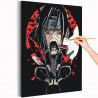 Итачи. Аниме Раскраска картина по номерам на холсте AAAA-RS032-100x125