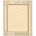 Открытка большая Рамка деревянная для вышивки ОР-111