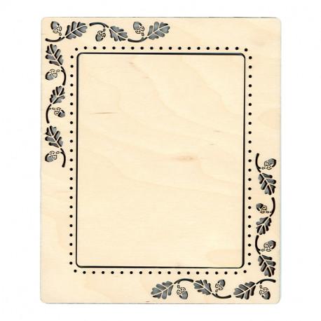 Желуди малая Рамка деревянная для вышивки ОР-113