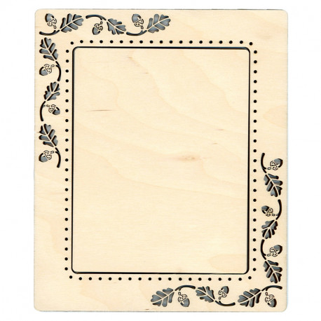 Желуди средняя Рамка деревянная для вышивки ОР-114