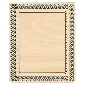 Кельтский узор средняя Рамка деревянная для вышивки ОР-117