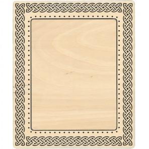 Кельтский узор большая Рамка деревянная для вышивки ОР-118