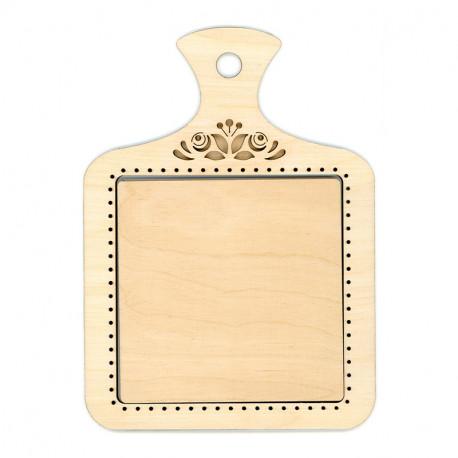 Разделочная доска малая Рамка деревянная для вышивки ОР-122