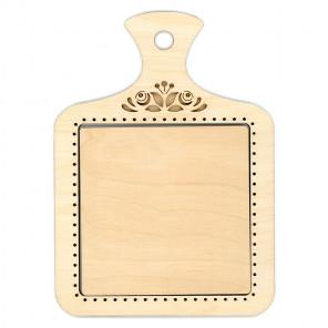 Разделочная доска средняя Рамка деревянная для вышивки ОР-123