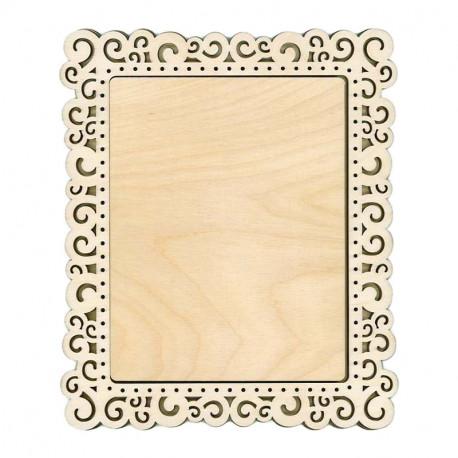 Спираль малая Рамка деревянная для вышивки ОР-139