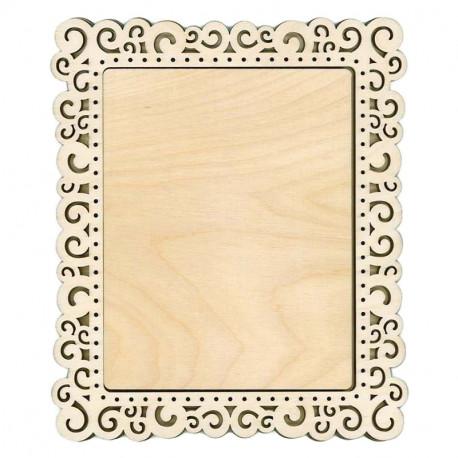 Спираль средняя Рамка деревянная для вышивки ОР-140