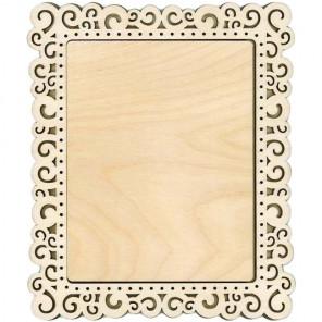 Спираль большая Рамка деревянная для вышивки ОР-141