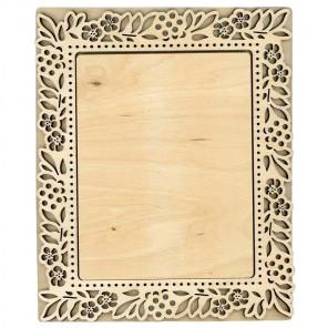 Флора большая Рамка деревянная для вышивки ОР-198