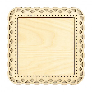 Плетение малая Рамка деревянная для вышивки ОР-204