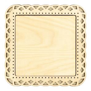 Плетение средняя Рамка деревянная для вышивки ОР-205