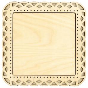 Плетение большая Рамка деревянная для вышивки ОР-206
