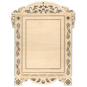 №2 Рамка - наличник деревянная для вышивки ОР-024