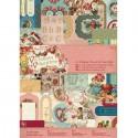 Victorian Valentine А4 Набор бумаги с высечкой для скрапбукинга, кардмейкинга Docrafts