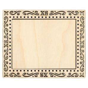Пасха средняя Рамка деревянная для вышивки ОР-101