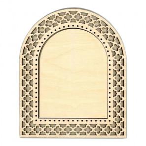 Арка малая Рамка ажурная деревянная для вышивки ОР-106