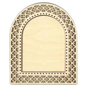 Арка средняя Рамка ажурная деревянная для вышивки ОР-107