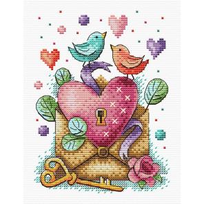 День влюбленных Набор для вышивания МП Студия М-602