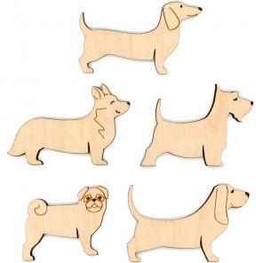 Собаки Набор бобин для ниток мулине ОР-038