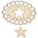 Морская звезда Органайзер и бобина для ниток мулине ОР-057