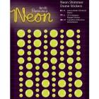 Neon Yellow Декоративные самоклеющиеся элементы Docrafts