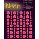 Neon Pink Декоративные самоклеющиеся элементы Docrafts